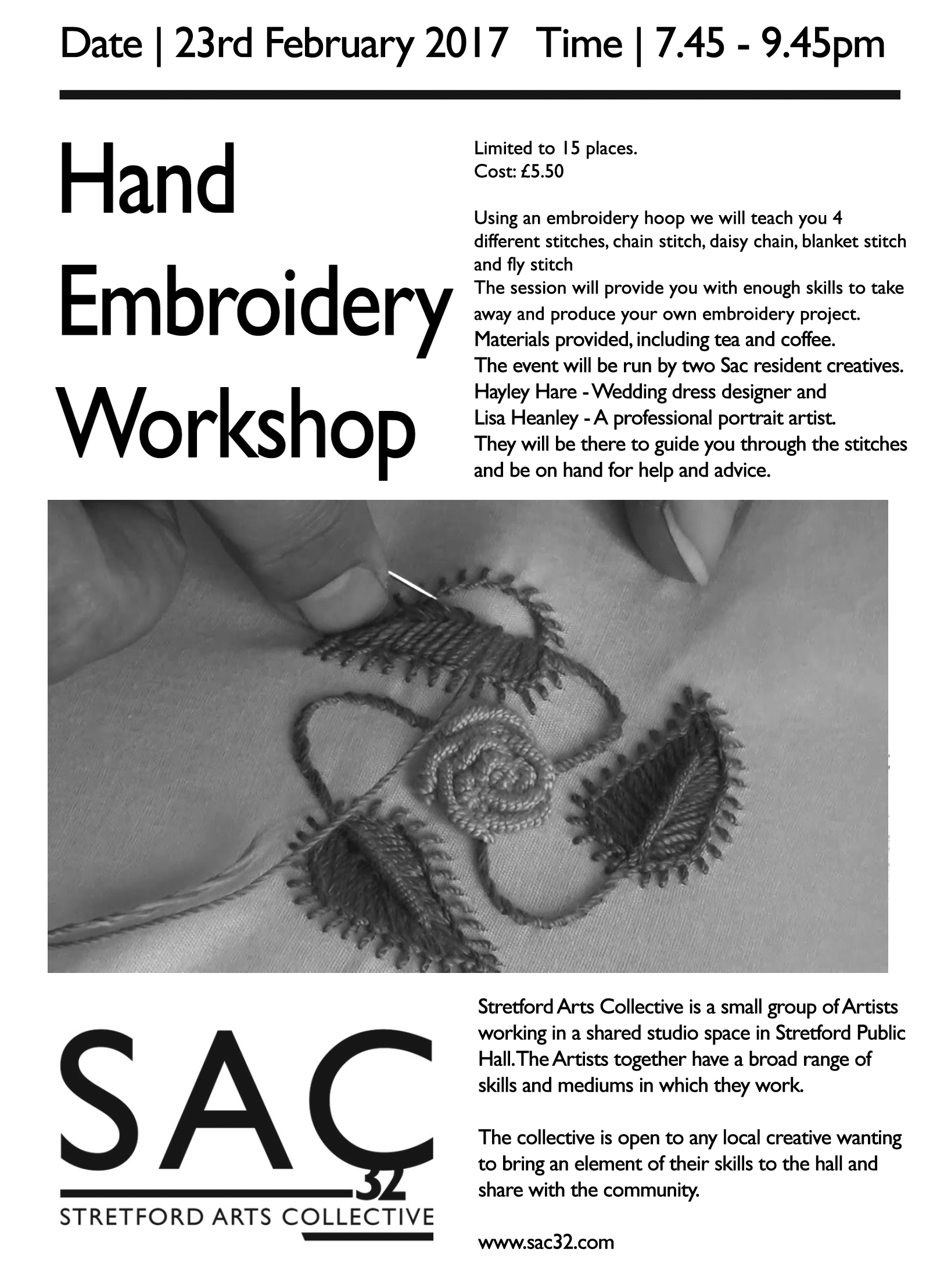 Embroidery Workshop 23217